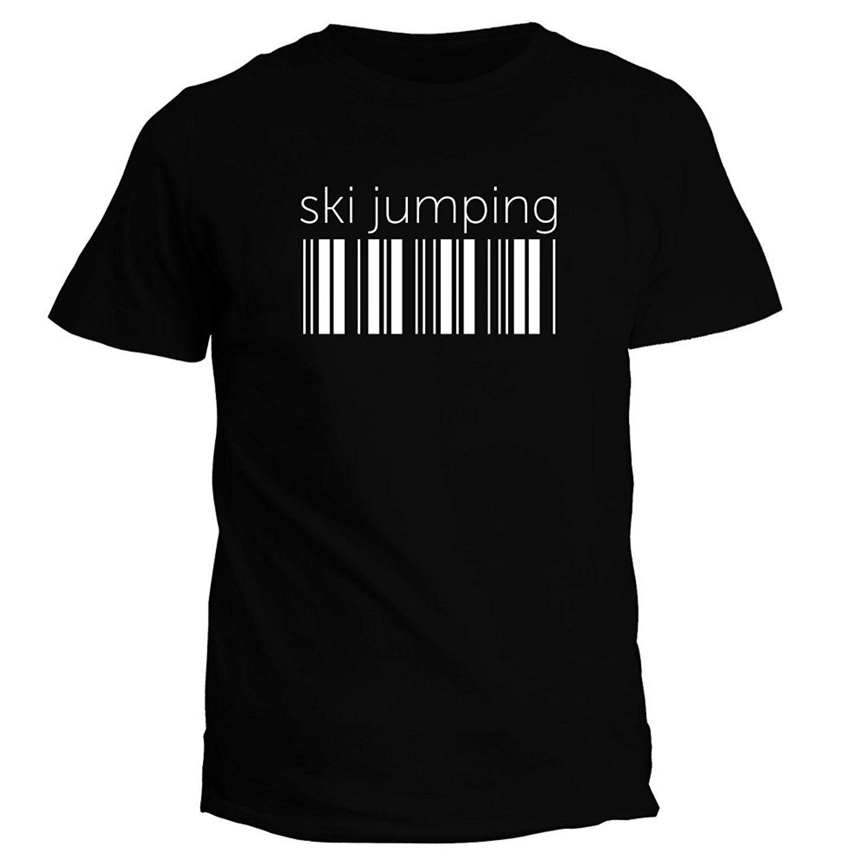 6169e3e0 Idakoos Skies Jumping Barcode - Sportser - T-Shirt Men Brand ...