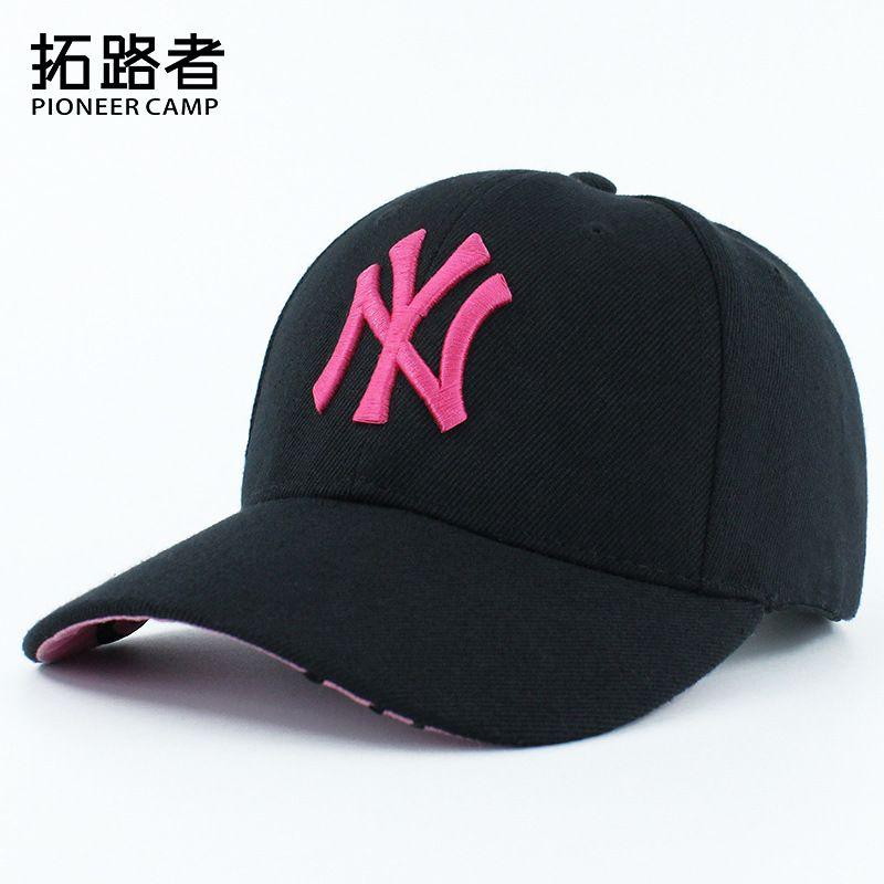 90b9373800c 2018 New Baseball Cap NY Embroidery Letter Sun Hats Adjustable Snapback Hip  Hop Dance Hat Summer Outdoor Men Women Black Visor Designer Hat Caps Online  Hats ...