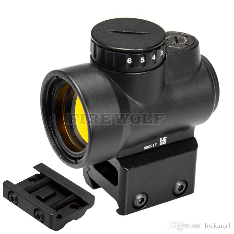 Trijicon MRO Estilo Holográfica Red Dot Sight Âmbito Óptico Tactical Gear Airsoft Com 20mm Scope Mount Para A Caça Rifle