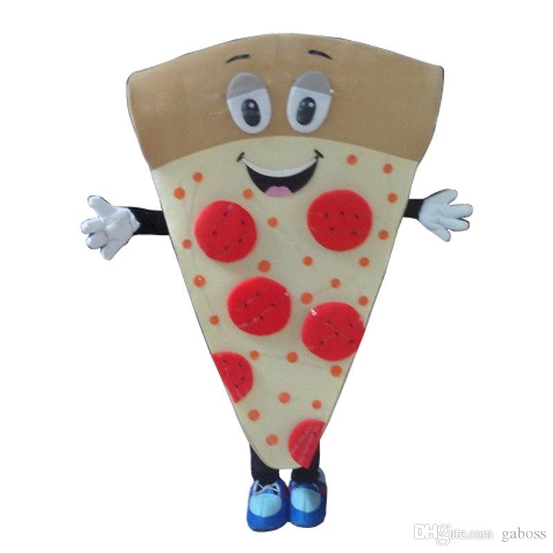 2018 Cartoon Character Adult Cute Pizza Mascot Costume Fancy Dress