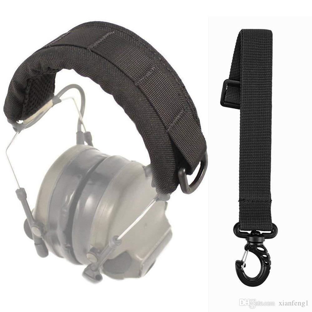 2019 Tactical Headband Advanced Modular Headset Cover Fit For All General  Tactical Earmuffs Accessories BLACK From Xianfeng1 8aa8e2541b7