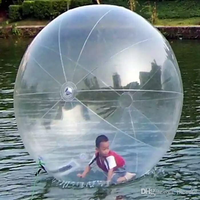 Inflatable Water Walking Ball Water Rolling Ball Water Balloon Zorb Ball Inflatable Human Hamster Plastic Freeshipping Fede