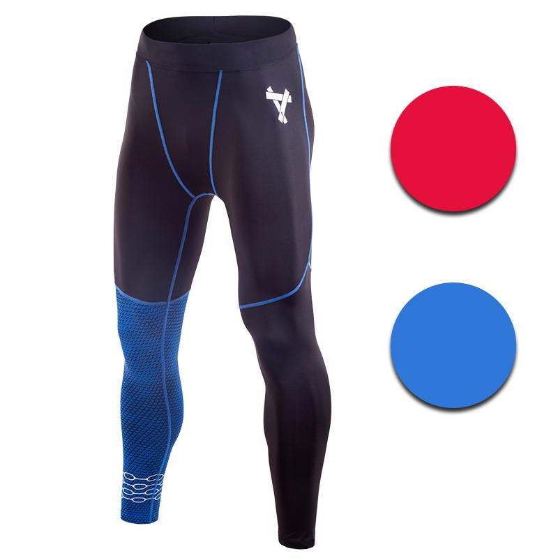 b895a83fd0 2019 Men Running Tights Black With Red Or Blue Paid Pants Basketball Tight  Jerseys Quick Dry Yoga Sportswear Elastic Gym Clothes From Ekuanfeng, ...