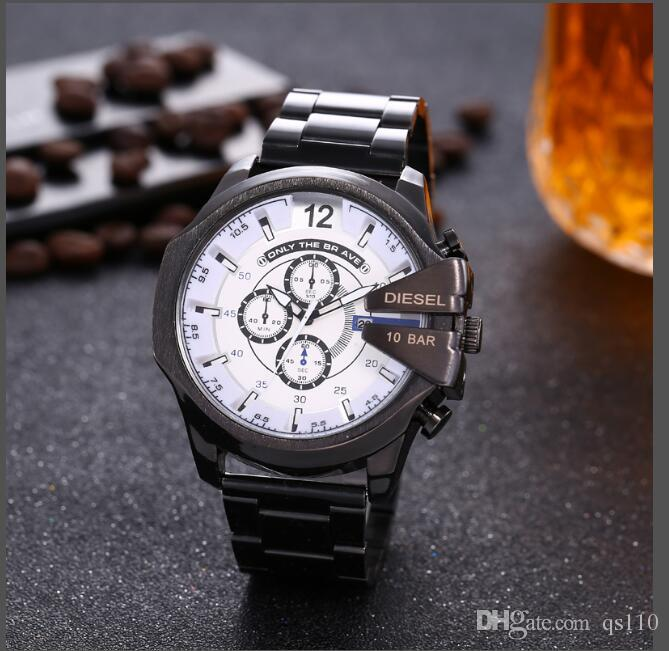 2018 luxury watch brand calendar quartz movement watch special style men leisure classic Wristatch high quality male clock