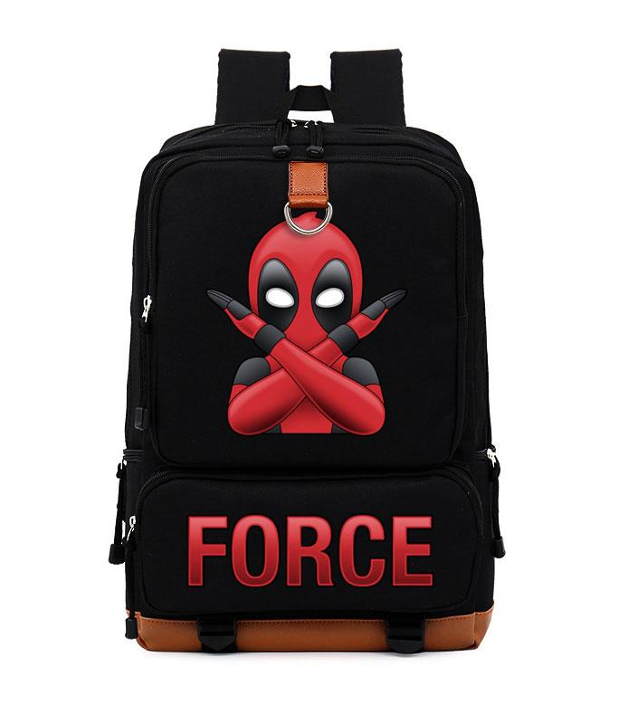 3d5420291d3d Fashion Deadpool Xforce Cool Dead Pool Women Men Leisure Bag Girls Boys  Universe Space School Bags Bookbag Shoulder Bag Backpack Womens Backpacks  Pink ...