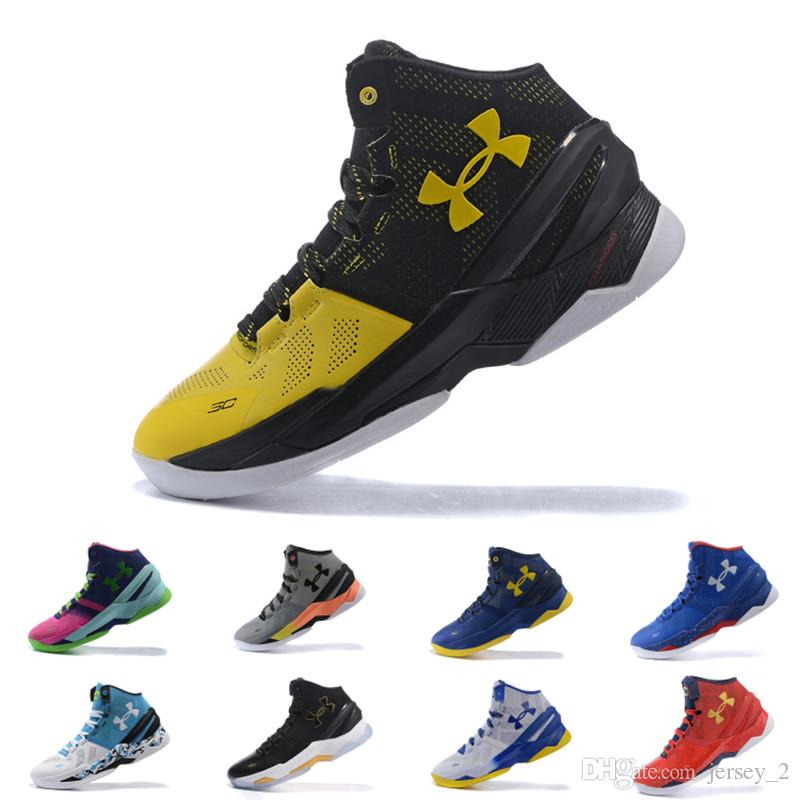 e26890cbe5fe ... ireland under armour ua curry 2 men basketball shoes bhm final athletic  sports sneakers cushion trainers