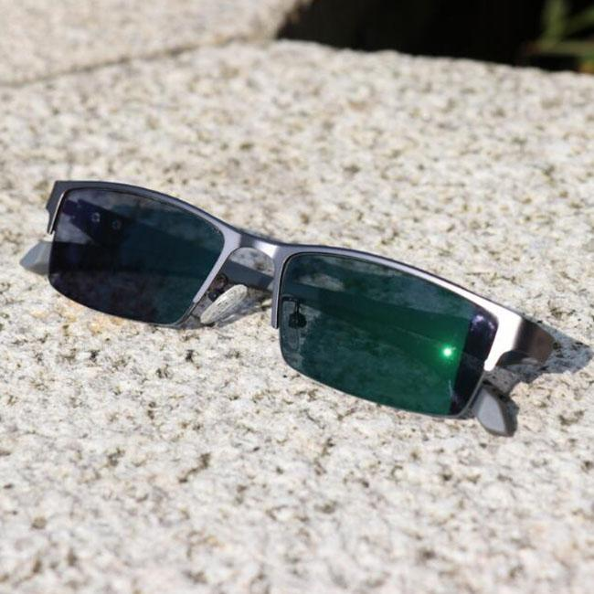 eaa0ba1bd9 Half Rim Photochromic Reading Glasses Progressive Eyeglasses Color Change  Lens Eyewear Blue Metal Frame Men Eye Reader +1.0~+3.0 Strength Folding  Reading ...