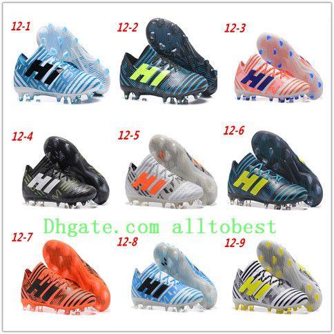 detailed look a769e 6e9dc ... 7574744ffa4d Soccer Cleats Mens Cheap ACE 17.1 FG Soccer Shoes Nemeziz  Messi 17.1 FG Football Boots fe81714b83f8 Original A-D-I-D-A-S ACE ...