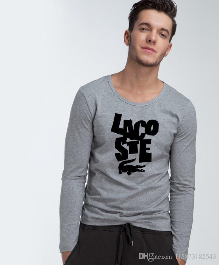 2019 Long Sleeve T Shirt Men S Korean Version Of The Trend Autumn