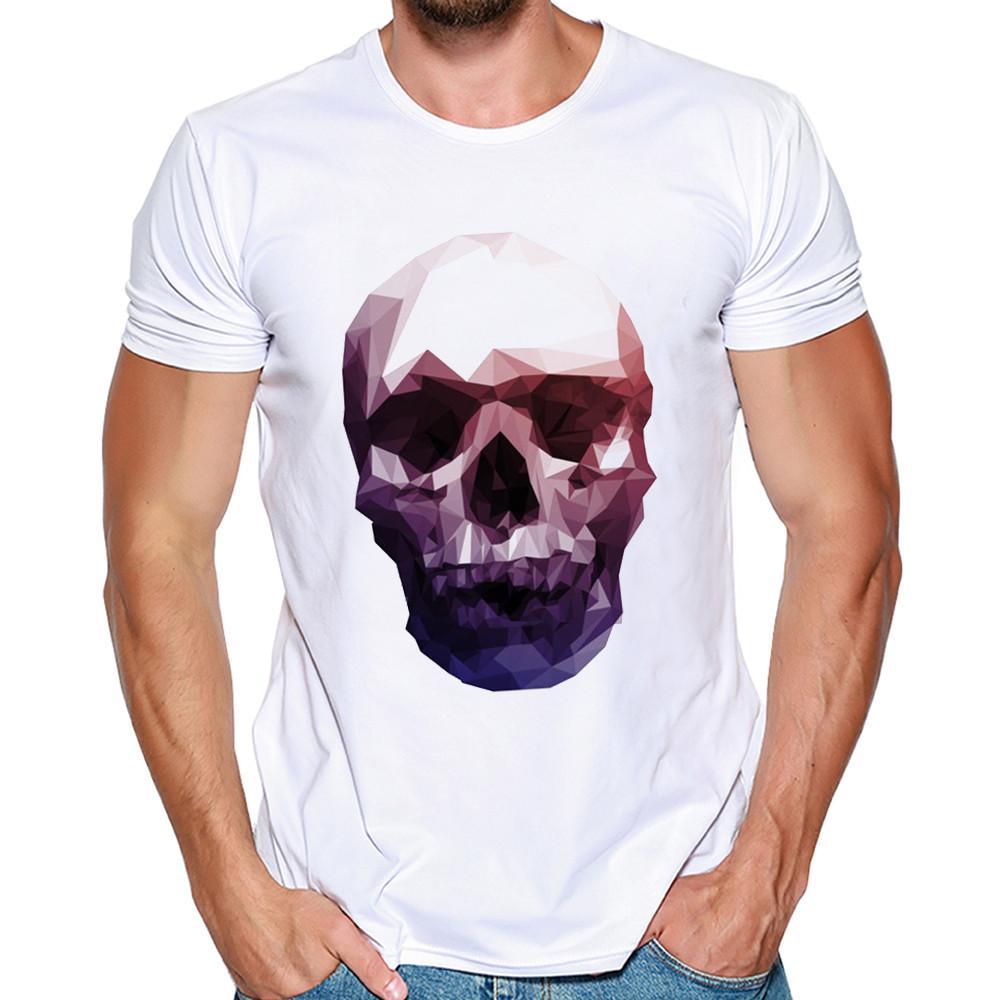 3c32f9ea0c04 2018 NEW Trendy Summer Men T Shirt Casual Long Sleeve Slim Men S Basic Tops  Tees Stretch T Shirt Mens Clothing Human Skeleton Vintage T Shirt Cute T  Shirts ...