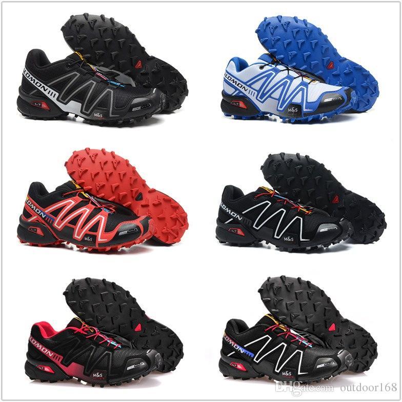 26399da36 Compre Salomon 2018 Hombres Speedcross 3 Trail Mejores Hombres De Calidad  Red Zapatillas Para Correr Al Aire Libre Un Jogging De Zapatillas De  Deporte Para ...