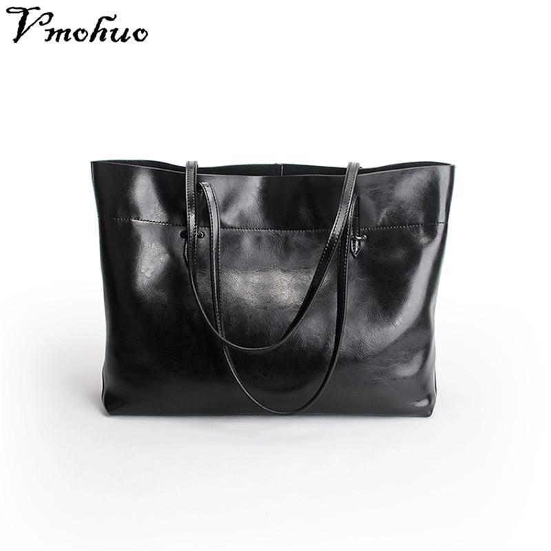 27b683f25a VMOHUO Women s Handbag Genuine Leather Luxury Handbags Women Bags Designer Soft  Messenger Bag Original Leather Bolsas Feminina Shoulder Bags Cheap Shoulder  ...