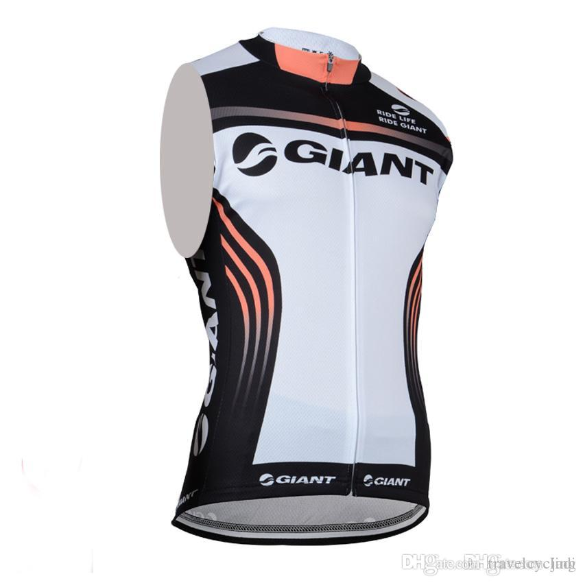 NEW Giant Sleeveless Vest Roupa Ciclismo Cycling Jersey Breathable ... cb67d5a30