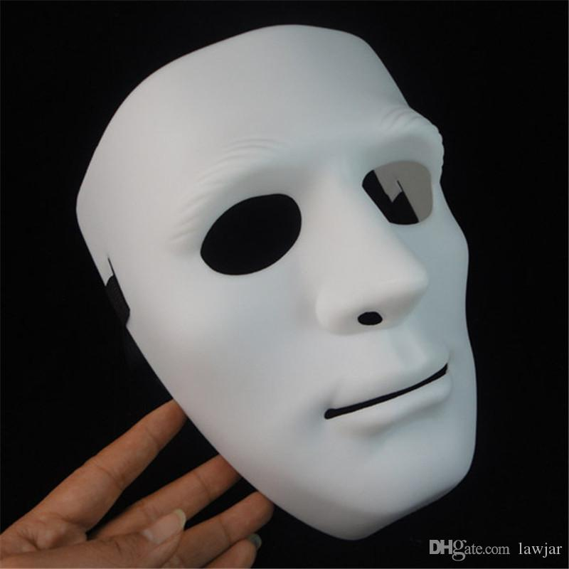 Wholesale Terror Halloween Mask Party Latex Mask Full Face Long White Face  Scary Masks For Men Women Cosplay Mask 009 Small Masquerade Masks Superhero  ... 340629f524