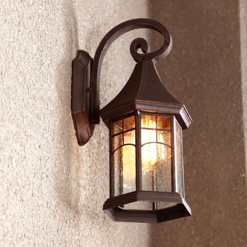 Gro handel vintage wandleuchte outdoor garten licht retro for Vintage lampen