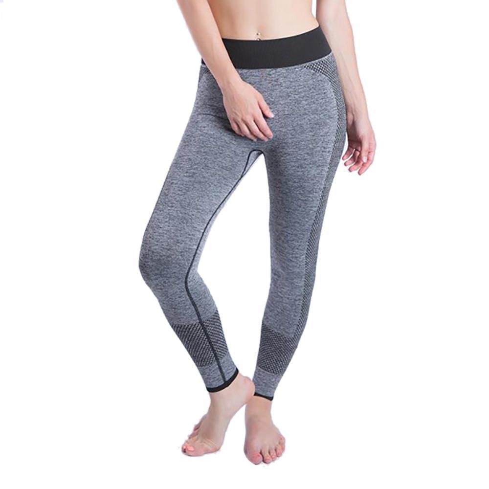 gros en ligne rechercher le meilleur les mieux notés Sports Leggings Fitness Stitching sports skinny yoga pants leggings  pantacourt femme ete