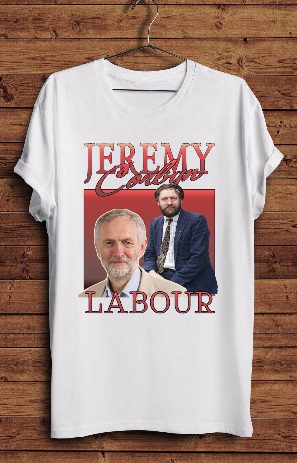 56e2431c99 Jeremy Corbyn Labour Vintage Party T Shirt Homage UK Parody Politics MP  Momentum New 2018 Summer Style T Shirt Shirt Custom T Shirts From Shitan9,  ...