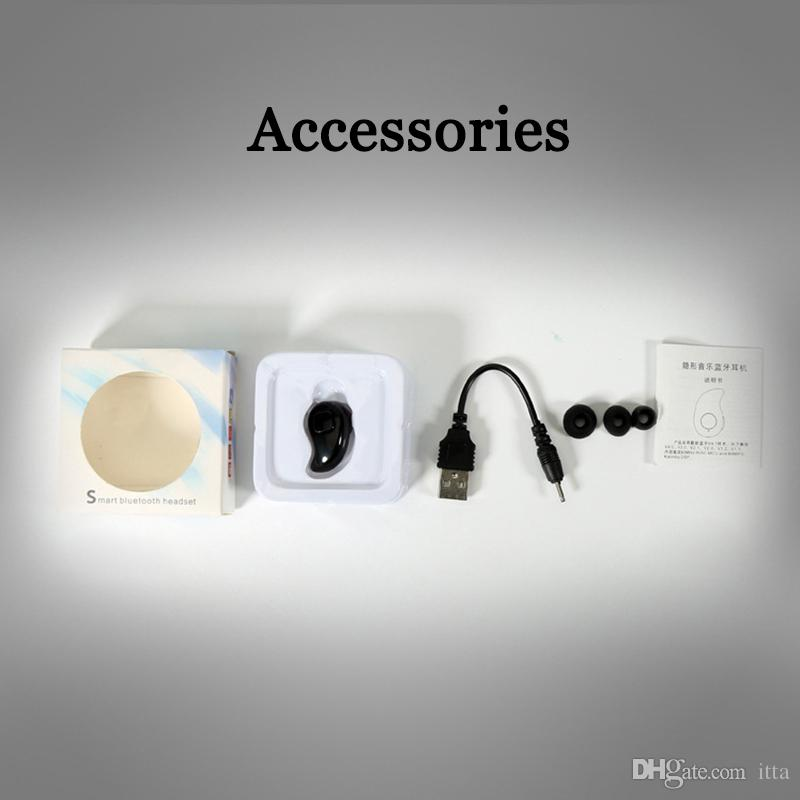 Мини S530 Беспроводная связь Bluetooth Наушники Стелс-наушники Наушники-вкладыши с микрофоном для универсального телефона с розничной коробкой