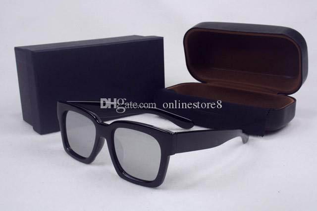 Fashion Style GM V Marca Occhiali da sole Uomo Donna Marca Design Telaio quadrato Occhiali da sole UV400 Oculos De Sol Feminino Con custodia