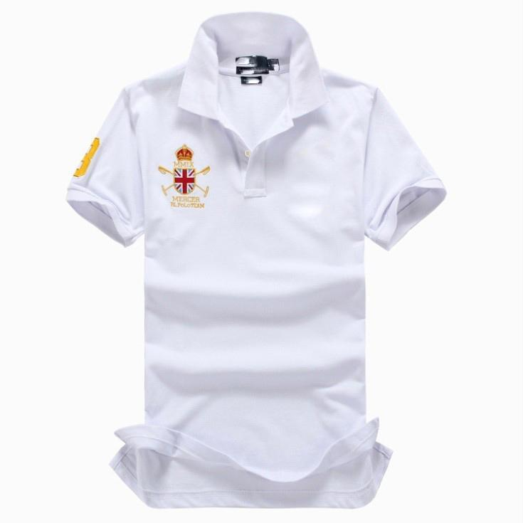 Polos Men classic style polo American designer high-grade pure cotton slim polo quality is very good young polo
