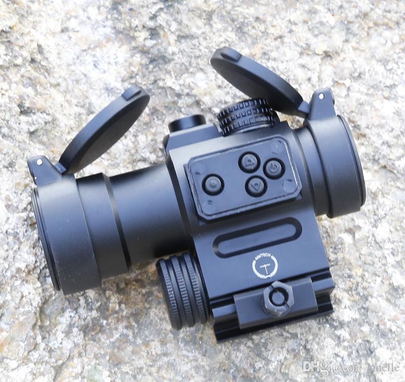 1x Tactical Red Dot Dot Heavy Duty avec laser rouge stocké aux Etats-Unis.Envoyer par USPS