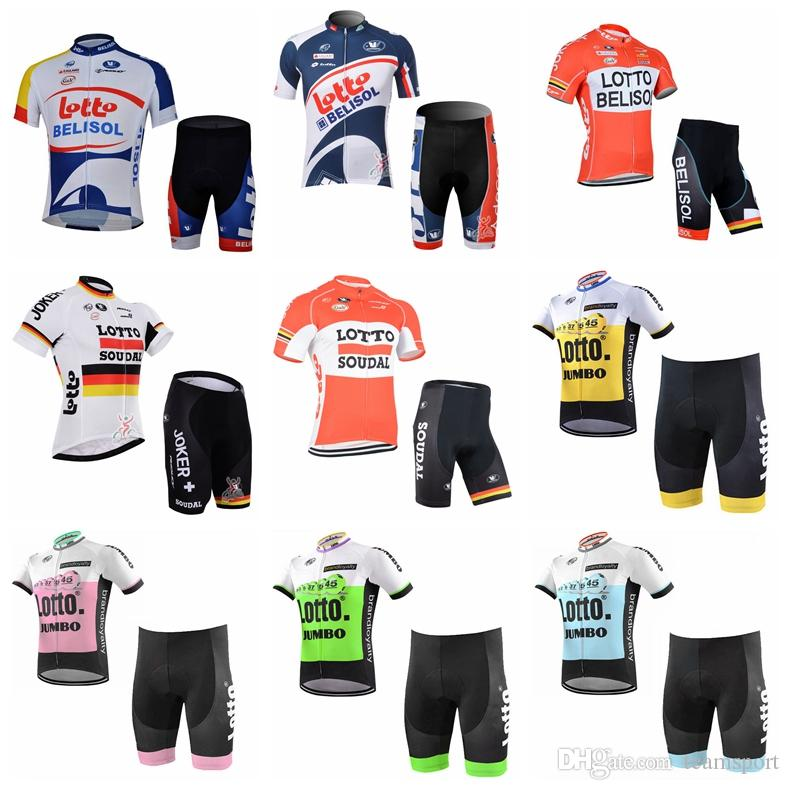 LOTTO Team Cycling Short Sleeves Jersey Shorts Sets New Comming ... 528ca8341