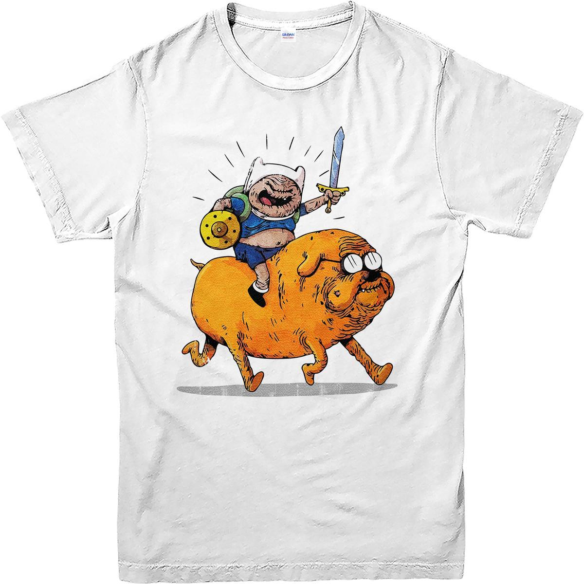 Grosshandel Adventure Time T Shirt Freizeitkleidung Lustiges Fan Top