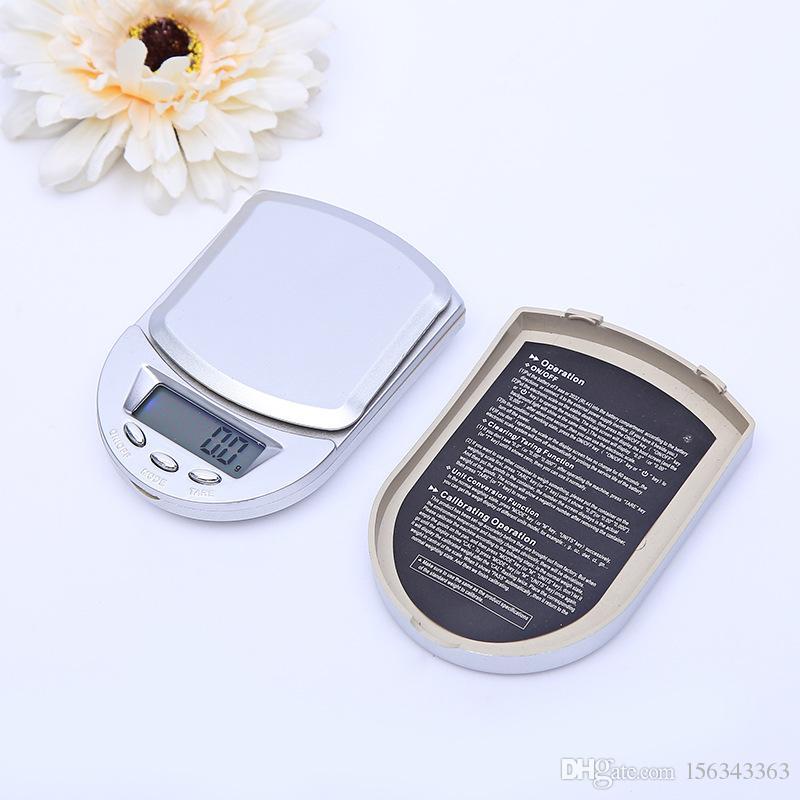 100g /0.01g 200g/ 0.01g 500g/0.1g Mini Pocket LCD Digital Jewelry Scale Diamond Gold Balance Weight Gram Scales