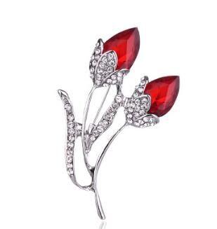 2018 fashion diamond flowers Brooch corsage Shirt Denim Jacket Decor Party Prom Women Men Accessories 69
