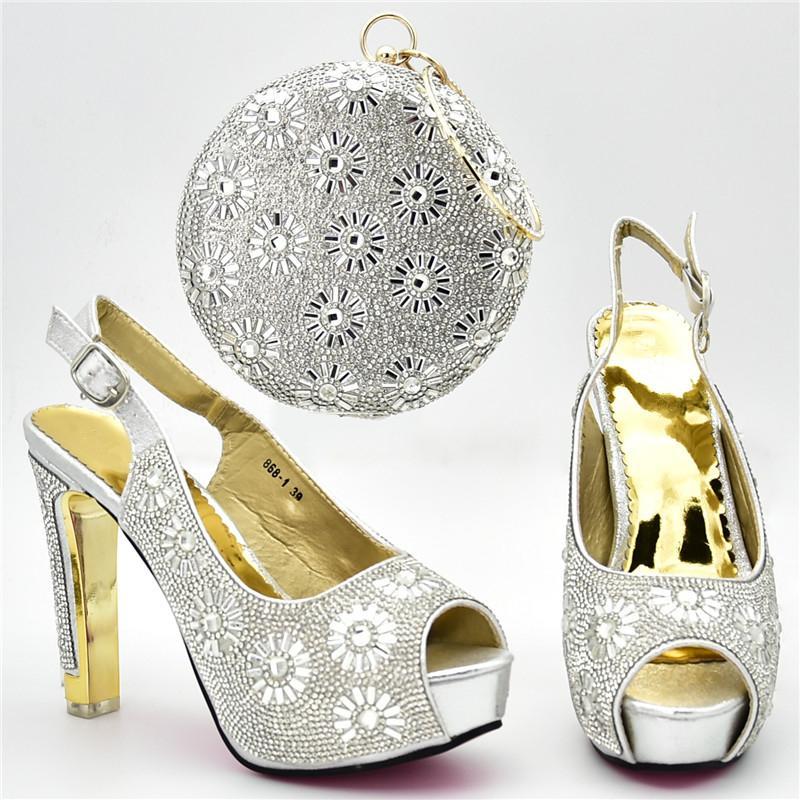 e35e7aa0162 Women Shoes And Bags High Quality Italian Shoes And Bag Set ...