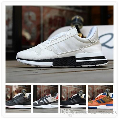 e5c41baac80e8 2019 Originals ZX500 RM Womens Running Shoes Mens Designer Shoes Outdoors  Sport Shoes Luxury Brand Knit Mesh White Black Tennis Trainers Sneakers  From ...