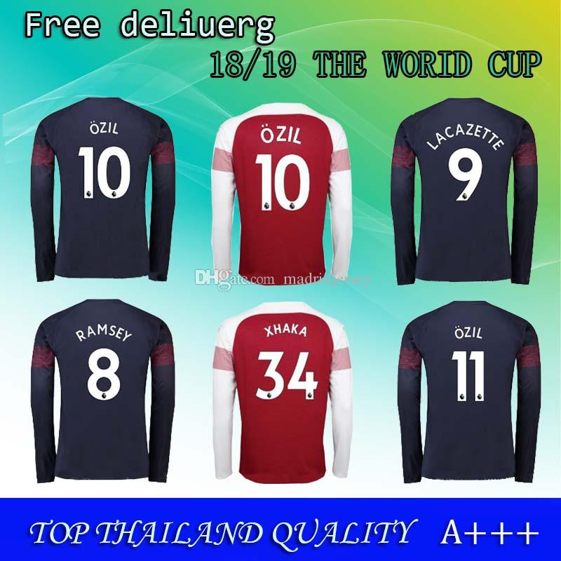 timeless design 7d592 57115 coupon code for arsenal 17 iwobi red home long sleeves ...