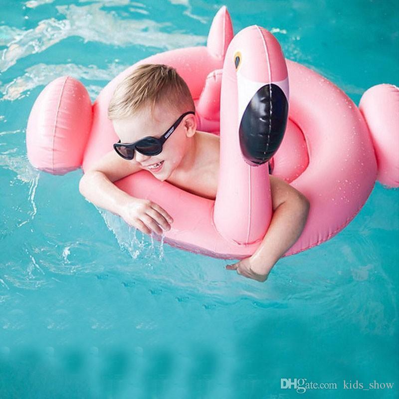 Cisne bonito inflável bóia anel de nadar bebê verão brinquedos cisne anel de assento do bebê brinquedos da água do bebê brinquedos de praia