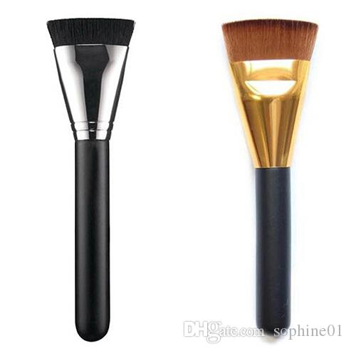 Wholesale New Hot Makeup Blush Face Cheek Foundation Flat Contour Brush Cosmetic Tool Free Shipping