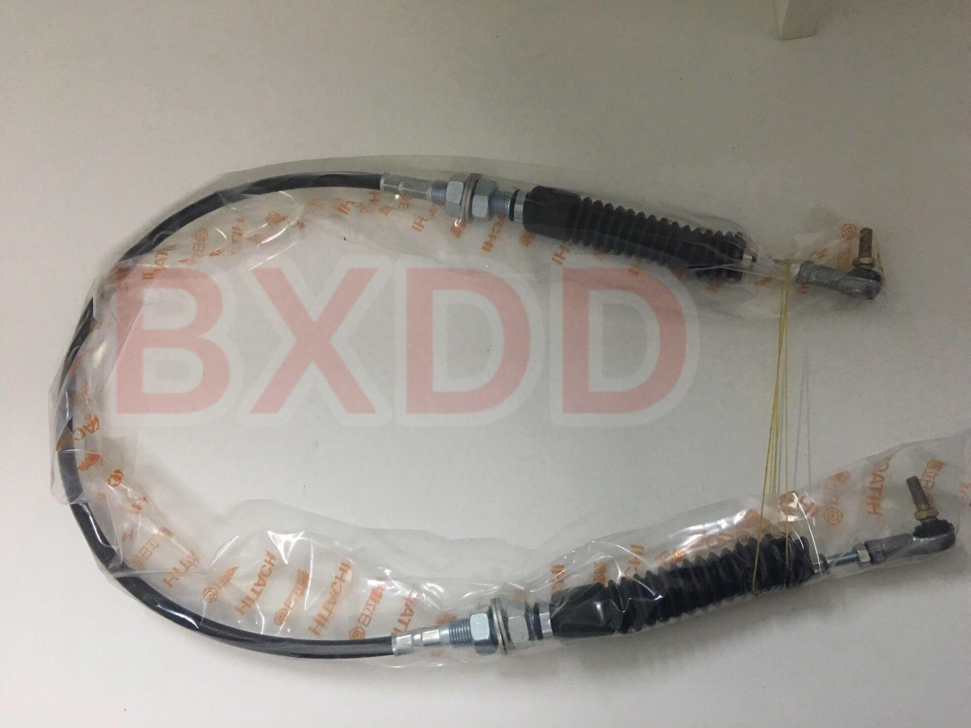 4259859 EX120-2 Hitachi Excavator Throttle Cable Excavator spare parts  Hitachi ZX240 Excavator Throttle Cable 4437891