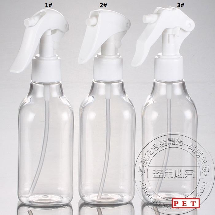 ddfc266a7602 200ml PET plastic perfume bottle,200ml clear plastic spray bottle, small  mouse trigger spray bottles with small mouse spray gun