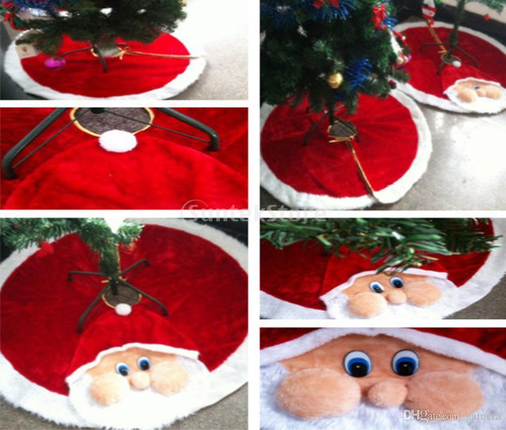 wholesale 46 inch santa claus christmas tree skirt holiday party decoration christmas yard decor christmas yard decoration from gamera 5817 dhgatecom - Wholesale Christmas Yard Decorations