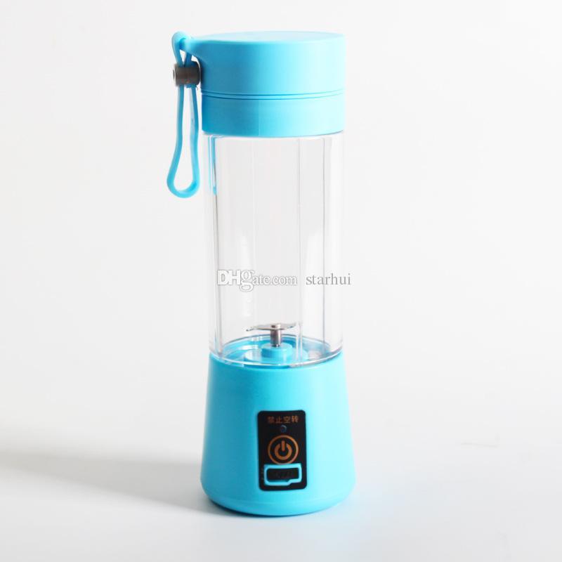 380 ml frullatore personale con tazza da viaggio usb portatile elettrico spremiagrumi frullatore ricaricabile spremiagrumi frutta verdura utensili da cucina WX9-374