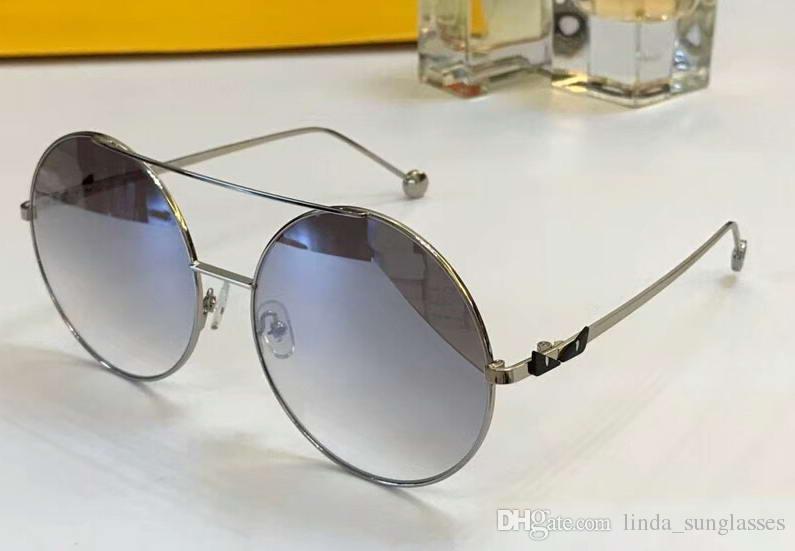 Mulheres Homem Maggie / s Transparente Dove Grey plástico moda óculos escuros Óculos de sol 2018 novo com caso NUM2018FF9