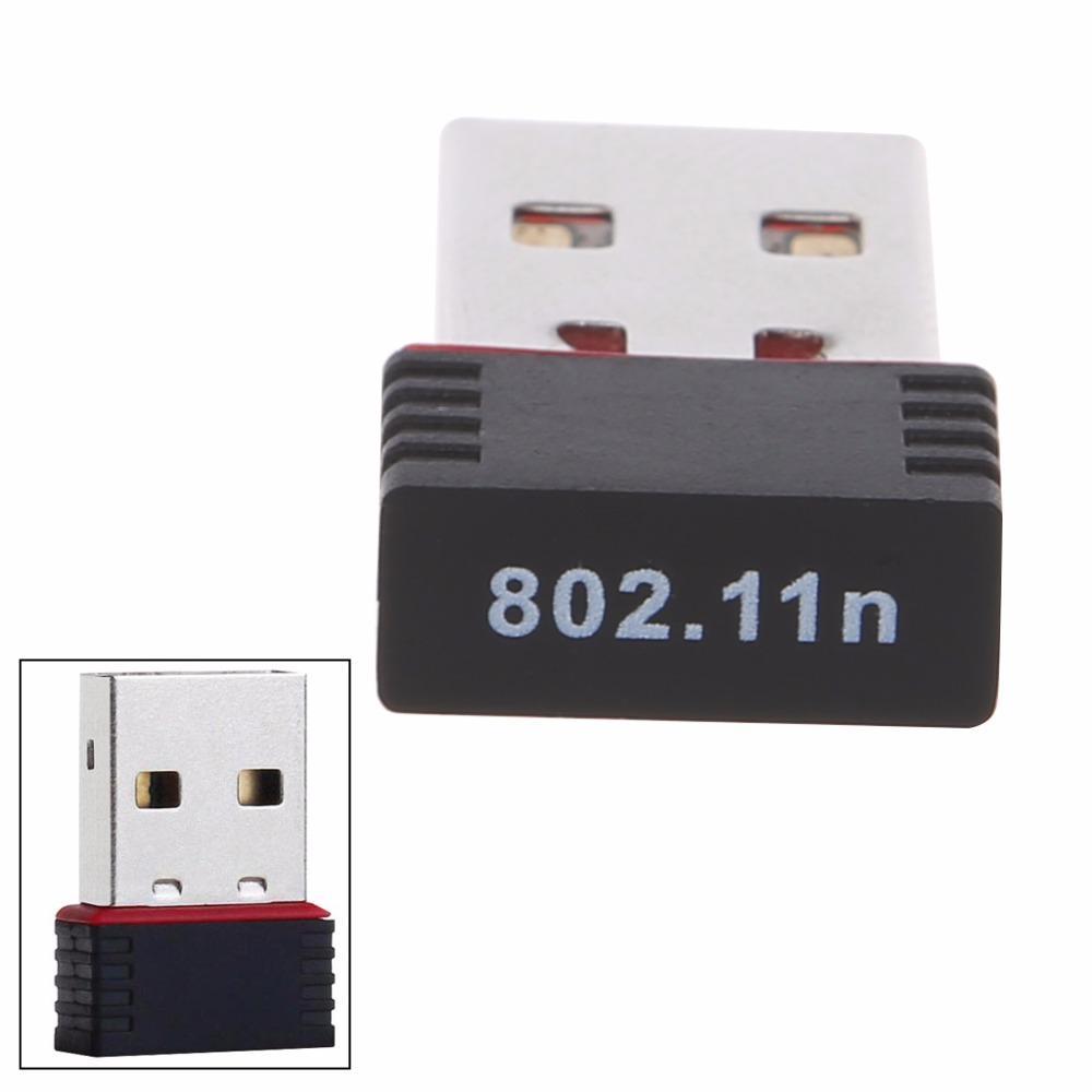 150 Mbps USB 2.0 WiFi Adaptador inalámbrico Tarjeta de red LAN 802.11 ngb Ralink MT7601 Mini tarjeta de red inalámbrica C26