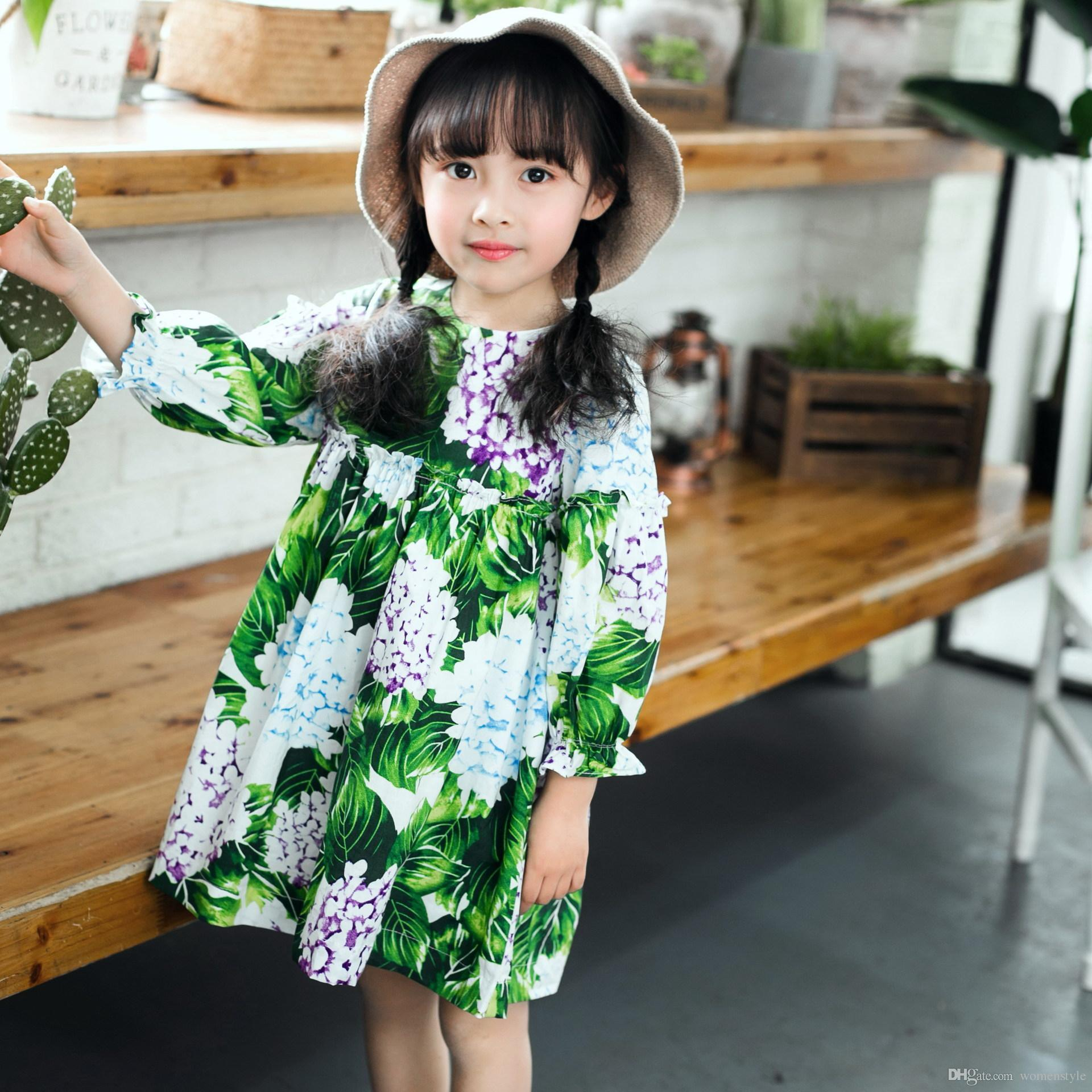 Best 2018 New Summer Costume Girls Princess Dress Children\'S Casual ...
