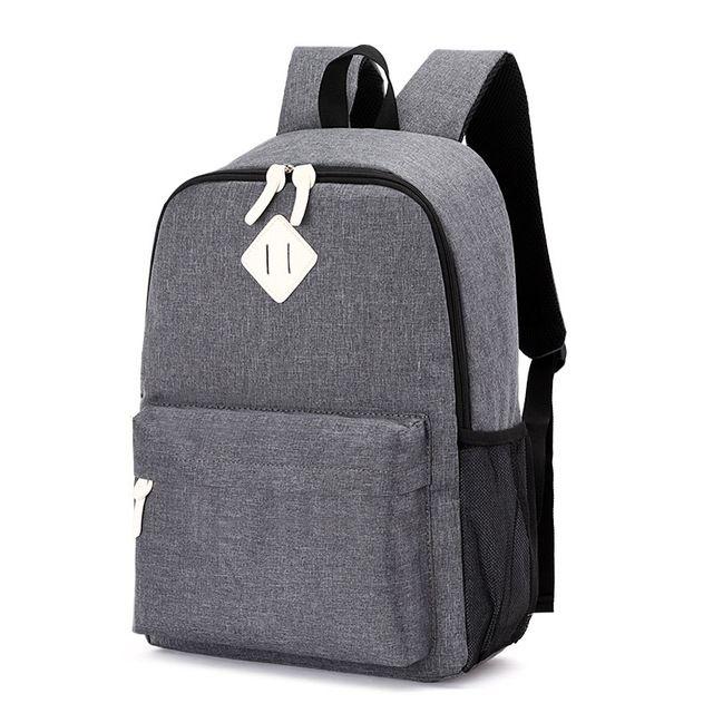 2018 Hot Male Backpacks School Bag Boys For Teenager Girls Chain