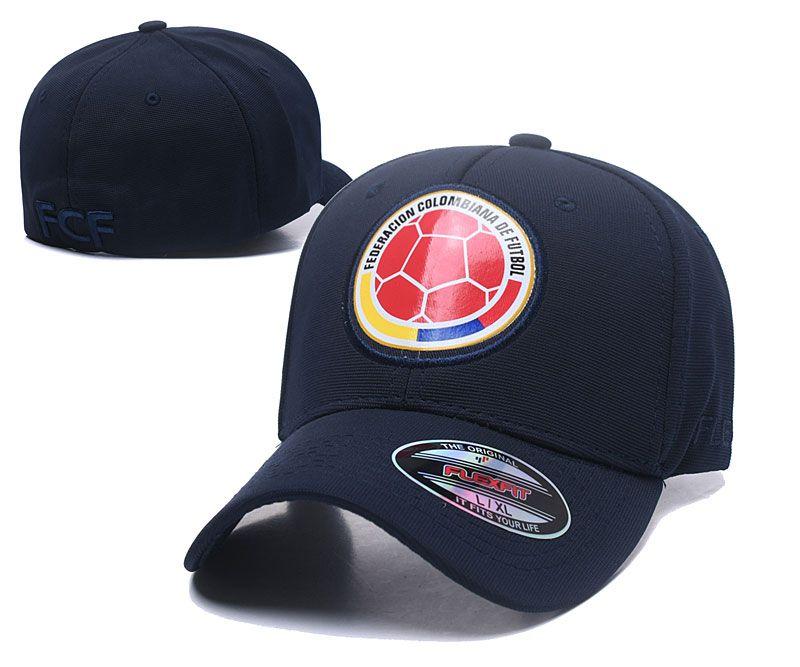 2019 2018 New Colombia FCF Outdoor Men Women Snapback Casual Sports  Baseball CapS HATS ff2072acc1e7