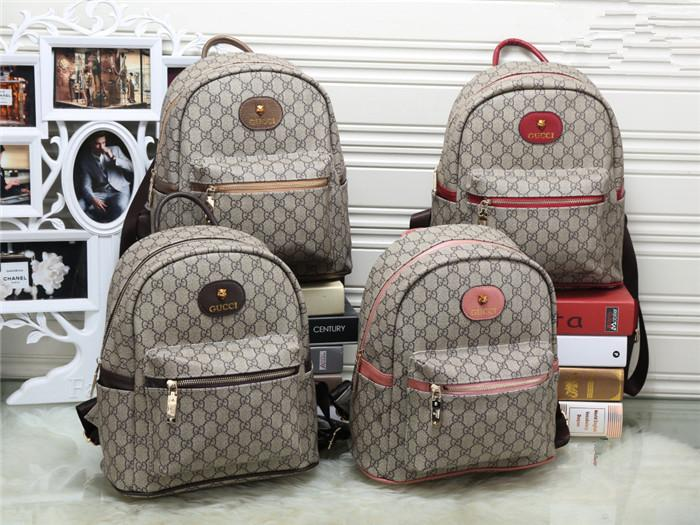 d161e205c6 Top Quality Fashion Backpack Men Women Leather Bags New Famous Brand  Designer Back Packs Bag Embroidered Backpacks Woman Bags Justice Backpacks  Camping ...