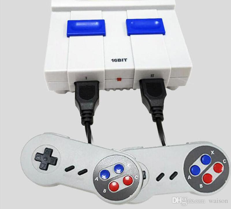 2018 New Arrival Super Mini MD SG-105 16Bit AV Output TV Video Game Console Sega Games With Retail box