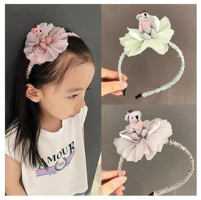 Mutter & Kinder Accessoires SchöN Süße Farben Blumen Haarband Für Mädchen Nette Silk Floral Haar Bands Kinder Haar Bogen Stirnband Haar Zubehör Für Frauen