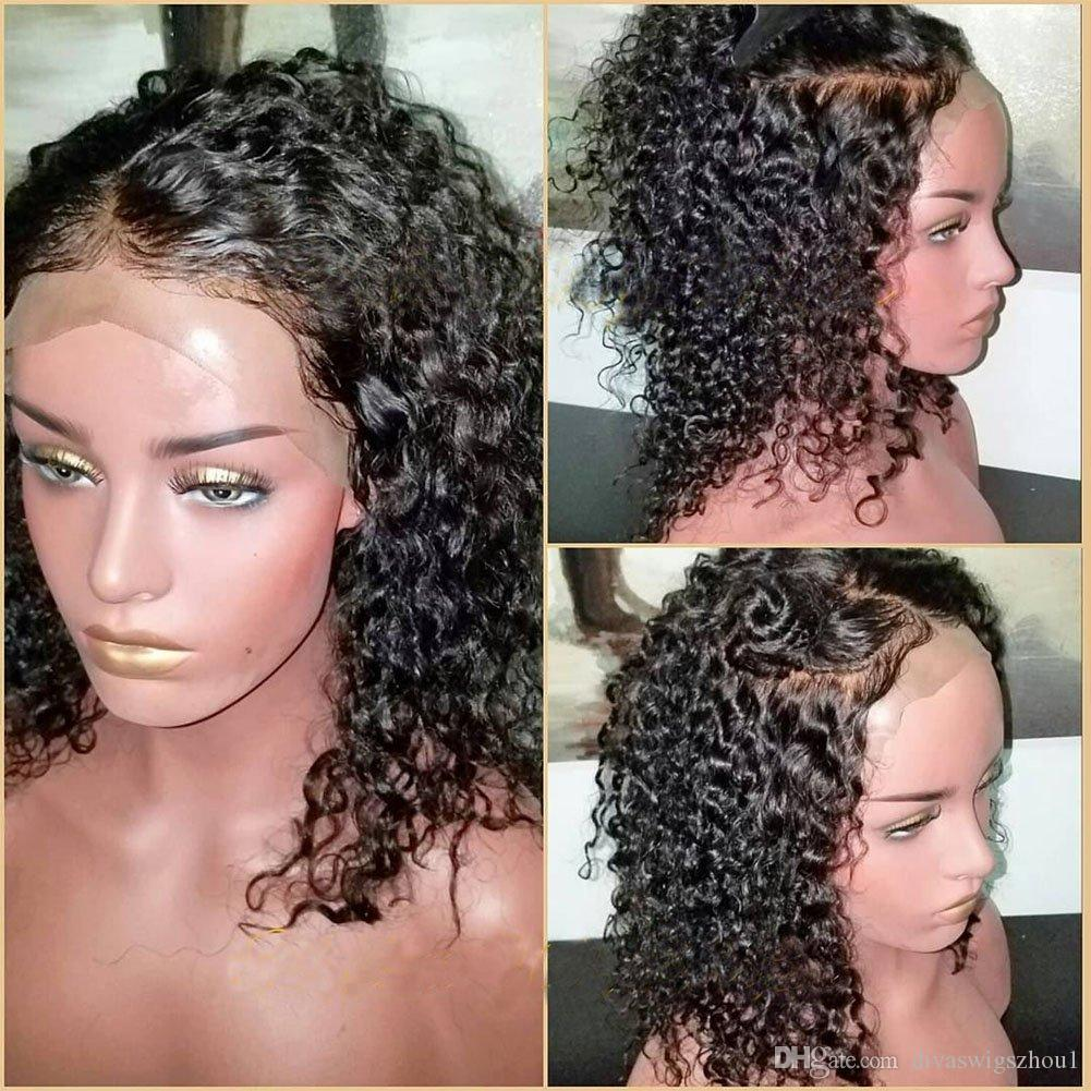 360 Lace Frontal Wig Pre Plucked 360 Lace Front Human Hair Wigs