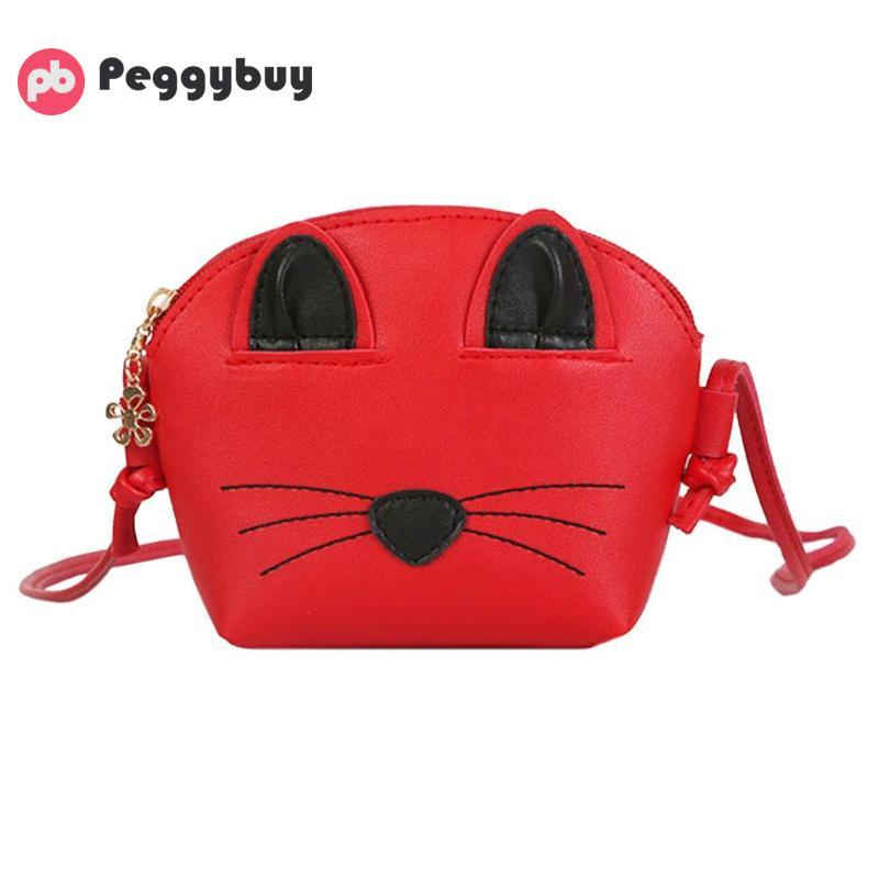 Cute Cat Children Small Messenger Handbag High Quality PU Leather Girls  Crossbody Shoulder Bags Women Kids Mini Pouch Pack Bolsa Cool Backpacks For  Girls In ... 7d39205ed7c08