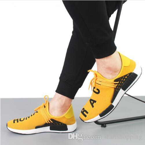 b30d6bb49bb15 2019 Human RACE HU Nmd Pharrell Williams Trail Mens Designer Sports Neutral  Spikes Running Shoes For Men Sneakers Women Casual Trainers Shoe From ...