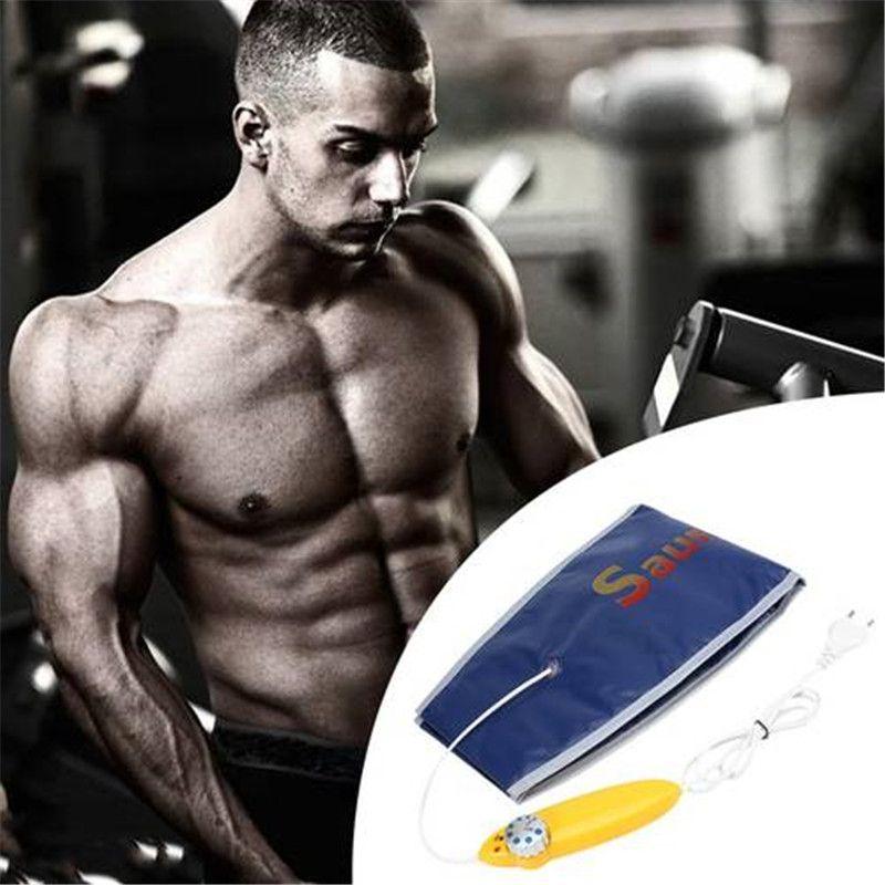 6e3e527b9818f Hot Sauna Belt Slimming Exercise Waist Sweat Belt Wrap Fat Cellulite ...